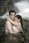 Edward and Bella in the water