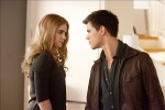 Rosalie and Jacob, stare-down