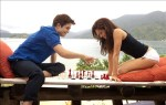Edward and Bella playing chess